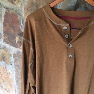 Light brown Henley